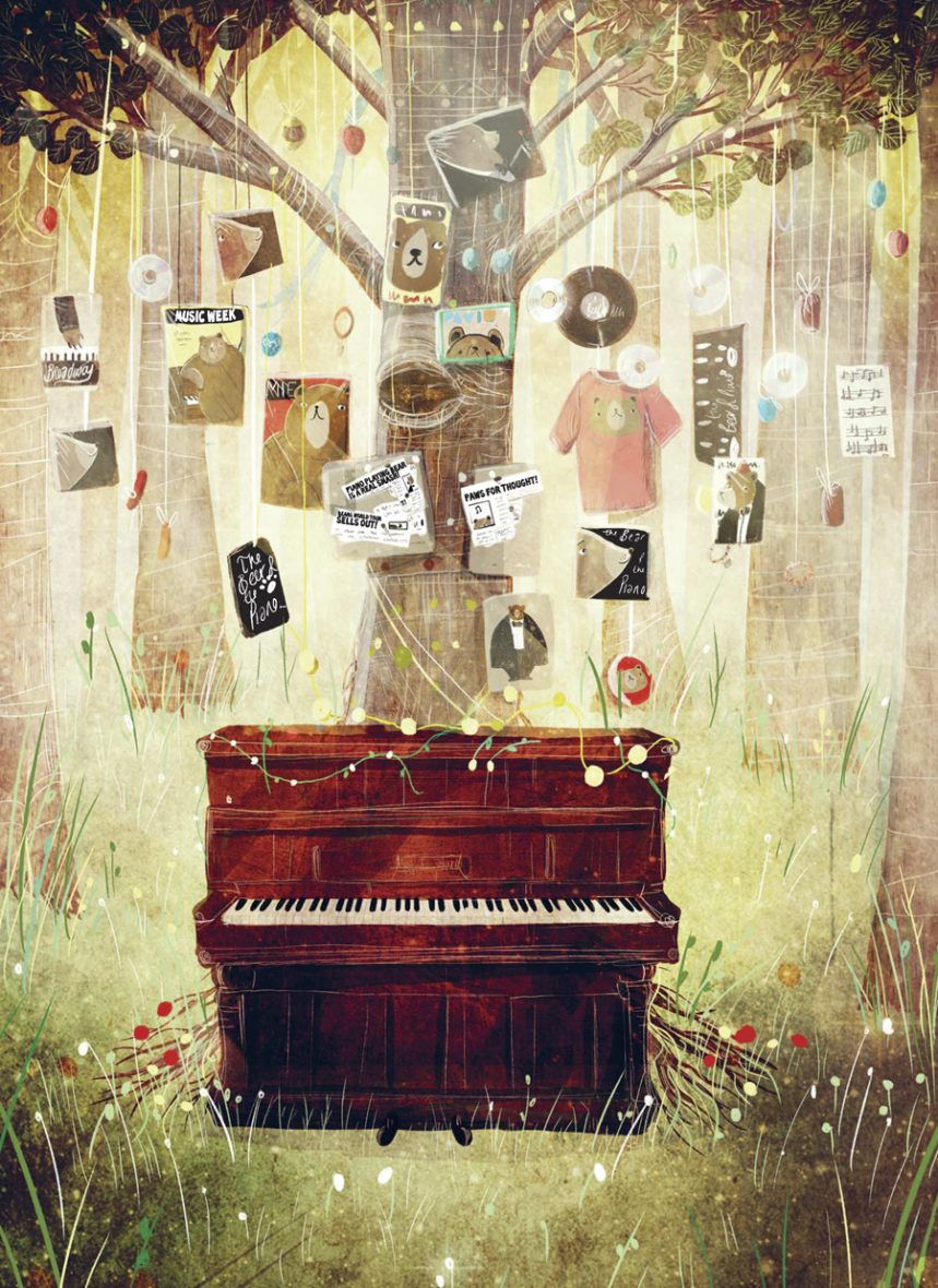 Bear and the Piano НИКЕЯ.indd